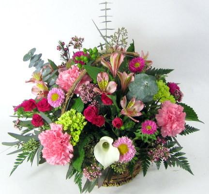 Pretty Garden Basket