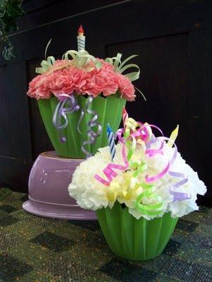 Birthday Surprise Cupcake