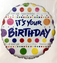Bubble Birthday! In case you forget everyone will know!