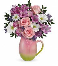 Chappell's  $44.99  Spring Tulip Pitcher   (Available Locally Only)