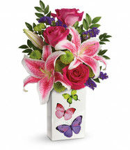 Chappell's Brilliant Butterflies Bouquet (Available Locally Only)