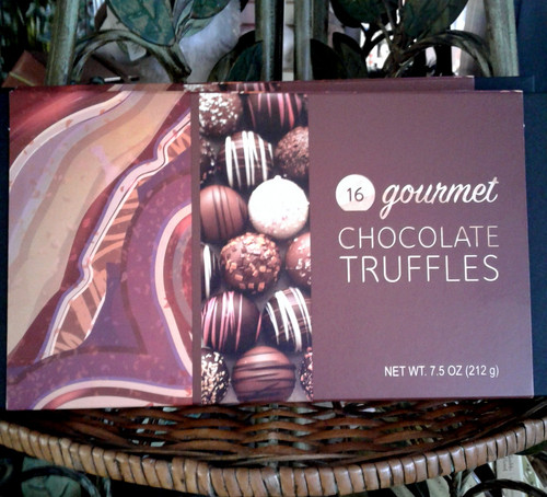 Scrumptious Box of Mouth Watering Chocolate Truffles. A combination of light and dark Chocolates In a Variety of Flavors!