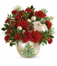 Chappell's Classic Pearl Ornament Bouquet (Local Only)