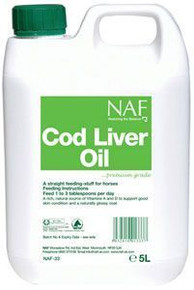 Cod Liver Oil gallon