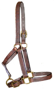 Halter Turnout Adjustable Chin Weanling