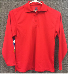 Polo DryFit Adult Long Sleeve