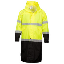 ML KISHIGO BRILLIANT SERIES HI VIS LONG RAIN COAT