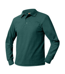 St. Peter's Polo Pique Long Sleeve
