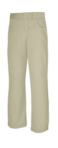Girls Flat Front Pant Slim
