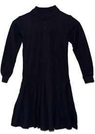 Polo Dress LS
