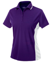 Asbury Women's Color Blocked Wicking Polo
