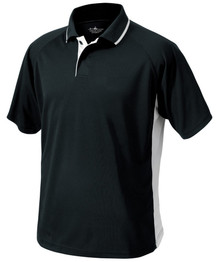 Asbury Men's Color Blocked Wicking Polo