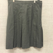 Skirt SD Box Pleat Dark Grey