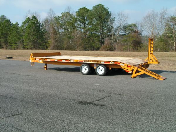 5-Ton Mini-Max Deckover Dovetail MP0518DE - Econoline Trailers