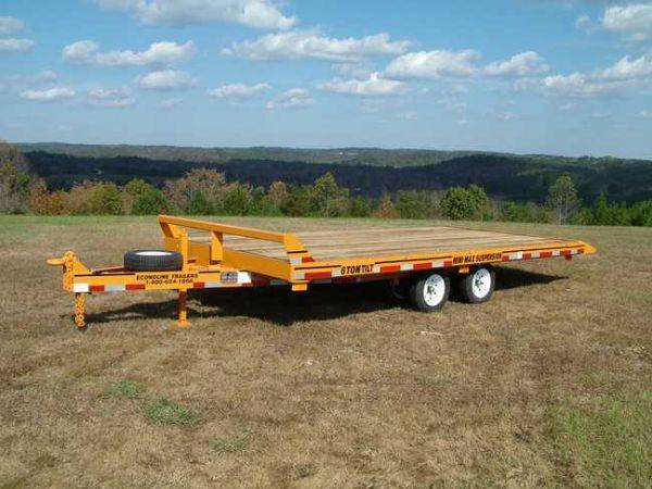 6 Ton Mini Max Tilt Mp0617te Econoline Trailers Equipment Tilt