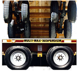 20,000 lb Multi-Max Trailer Suspension