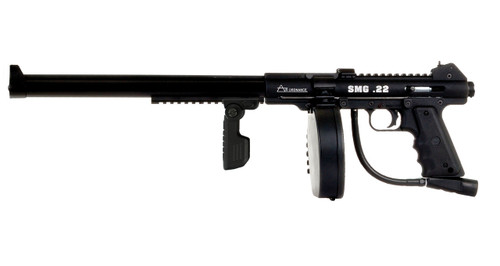 Features the folding and adjustable front grip.