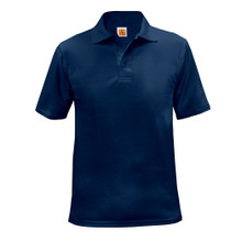 Unisex Moisture Wicking Short Sleeve Polo