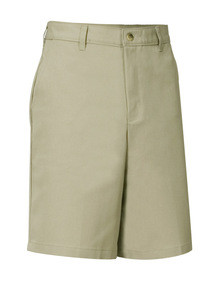 Boys Flat Front Shorts - Slim