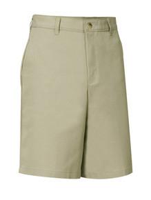 Boys Flat Front Shorts - Husky