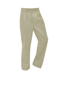 Boys Pleated Pants - Husky