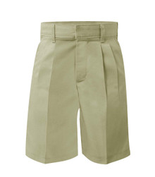 Boys Pleated Shorts - Husky