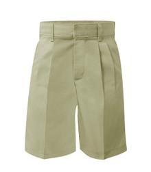 Boys Pleated Shorts - Husky