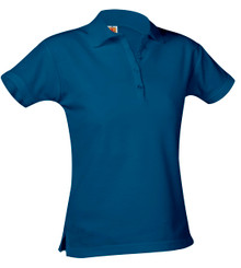 Girls Pique Polo Short Sleeve