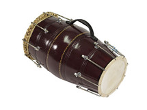Dholak with metal hooks (DHO02)