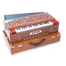 MKS 3 Reed Fold Up Scale Change Harmonium (HAR008)