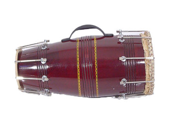Dholki with metal hooks (DHO003)