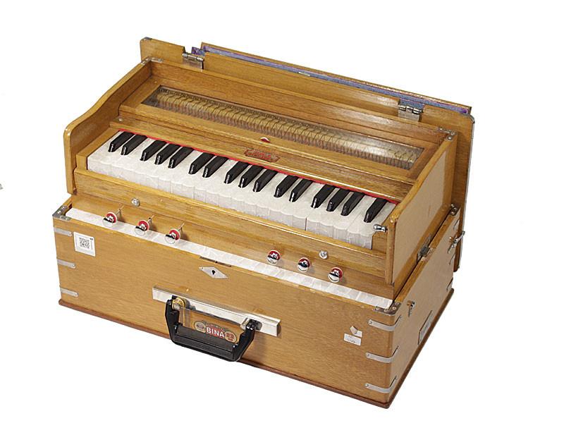 Bina 23b Kirtan Harmonium - Hand Tuned