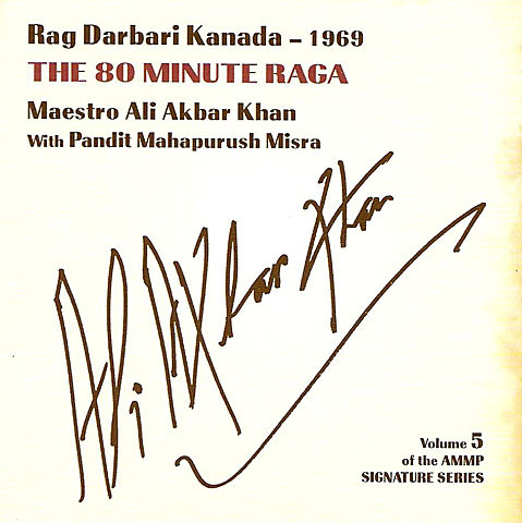 CD Ali Akbar Khan - The 80 Minute Raga