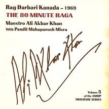 CD Ali Akbar Khan - The 80 Minute Raga (CD001)