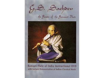 DVD - The Basics of Bansuri Flute - by G.S. Sachdev (BOOK004)