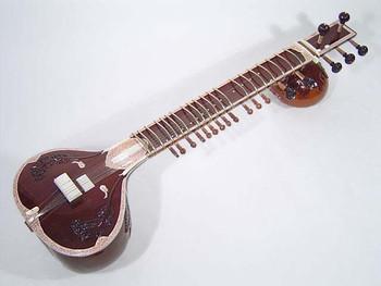 Left Handed Manoj Kumar Sardar #3 Sitar (SIT033)