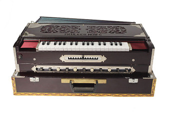 Paul and Co. 4 Reed Scale Change Fold Up Harmonium - 13 Scale (PAU003)