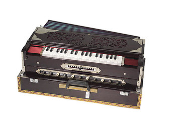 Paul and Co. 3 Reed Scale Change Fold Up Harmonium - 13 Scale (PAU002)
