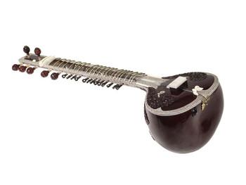 Sanjay Rikhi Ram Microphonic Grand Pro Tun Sitar (SIT045)