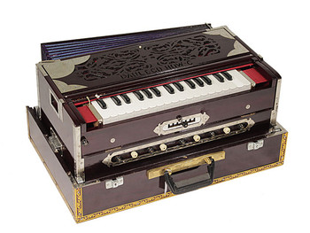 Paul and Co. 3 Reed Scale Change Fold Up Harmonium - 7 Scale (PAU004)