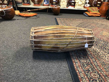 Old South Indian Mridangam needs new Treble Head