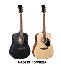 Musician's Mall Spruce Top Dreadnaught w/PU Semi-Acoustic Guitar MM210E
