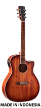 Musician's Mall All Mahogany Auditorium Body Semi-Acoustic Guitar MM310MCE