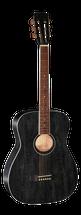 Musician's Mall All Mahogany Concert Body Semi Acoustic Guitar MM120E BOP