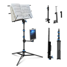 IA Stands ECT1 Sheet Music/Tablet/Phone Stand (ECT1)