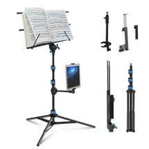 IA Stands ECT2 Sheet Music/Tablet/Phone Stand (ECT2)