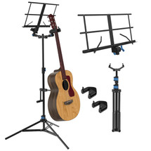 IA Stands ECT8 Double Guitar Stand/Sheet Music Stand (ECT8)