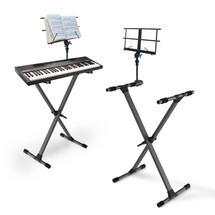 IA Stands ECT9 Keyboard Stand + Sheet Music Stand (ECT9)