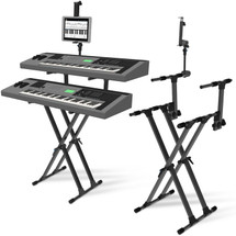 IA Stands ECT12 2 Tier Keyboard Stand + Tablet/Phone Mount (ECT12)