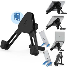 IA Stands ECT13 Desk Stand Pro - The Perfect Hands-Free Laptop Stand, Tablet Stand, Phone Stand and Book Stand! All in One (ECT13)
